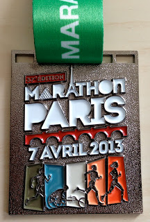 Marathon de Paris – 7 avril 2013
