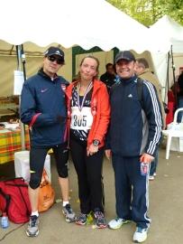 Avec Eric et Hélène. Crédit photo: Nicolas M