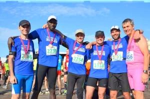 De gauche à droite: Stéphane, Pathé, Pierre, Renaud, Roulio et Philippe. Crédit photo: Béatrice B