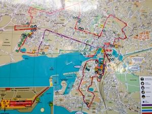 Parcours Marathon de La Rochelle 2013