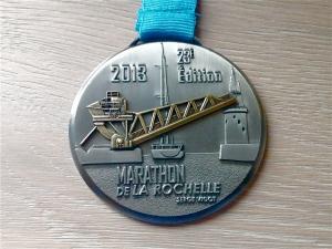Médaille 22- Semi marathon de La Rochelle 2013