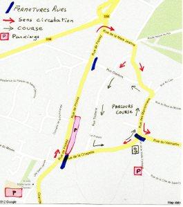 Parcours des 24h des Yvelines 2014
