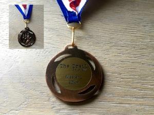 Médaille 35- The Trail Sens 2016